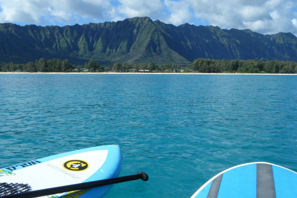 View from Waimanalo Bay