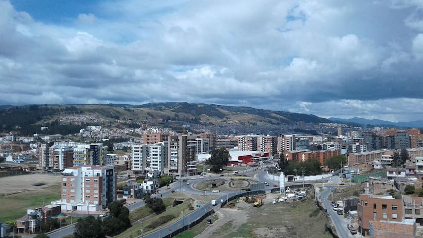 16th floor condo with best view of Tunja city