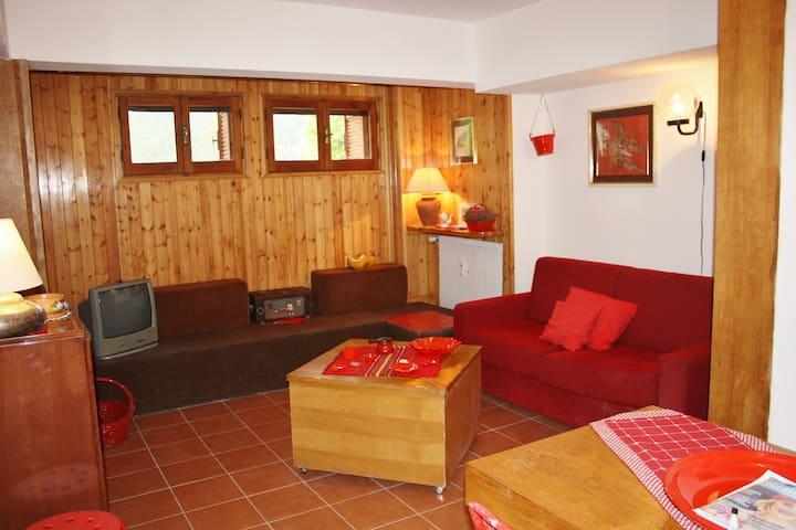 Appartamento  rosso 6 posti letto - Pescasseroli - Apartment