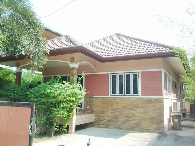 NS House, 2 Bedroom, 200 meters to the Beach - Choeng Thale - Casa