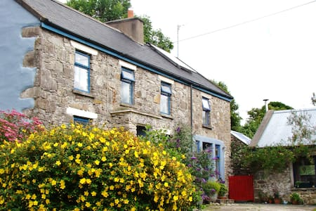 Double room in quiet country cottage with internet - Glendree