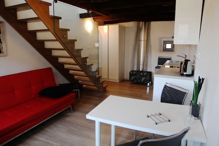 Funky 1BD apartment, Brda, Slovenia - Kozana - Apartament