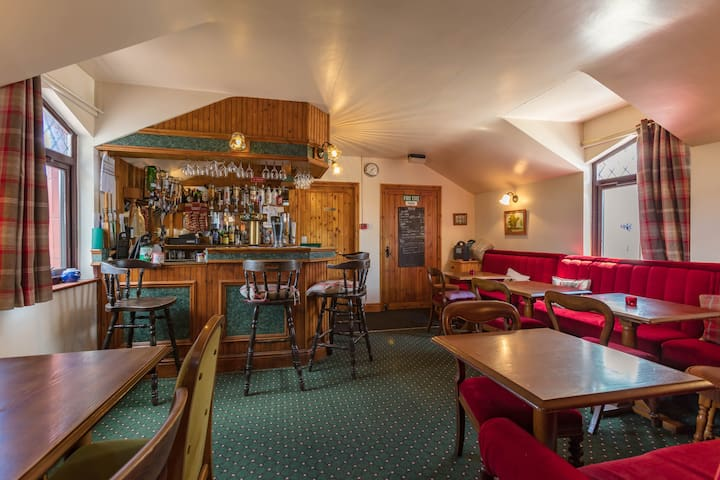 Have a drink at our fully licensed bar