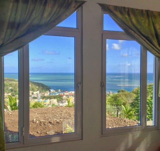 Port Mathurin : maison spacieuse & vue panoramique