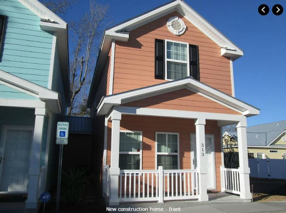 Gulfstream Mrv13 New 2 Br Cottage 1 Block To Beach Houses For Rent In Myrtle Beach South