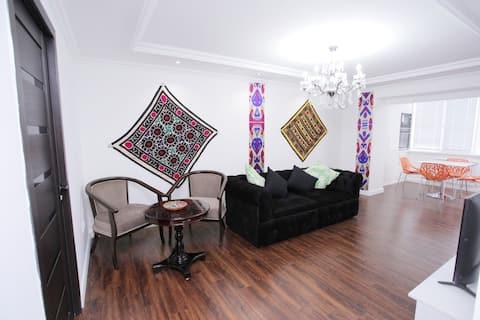Moderný apartmán s výhľadom na Registan Square 2 Bed