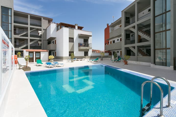 APARTMENT IN CANDELARIA-POOL- NEAR THE SEA-WIFI - Candelaria - Byt