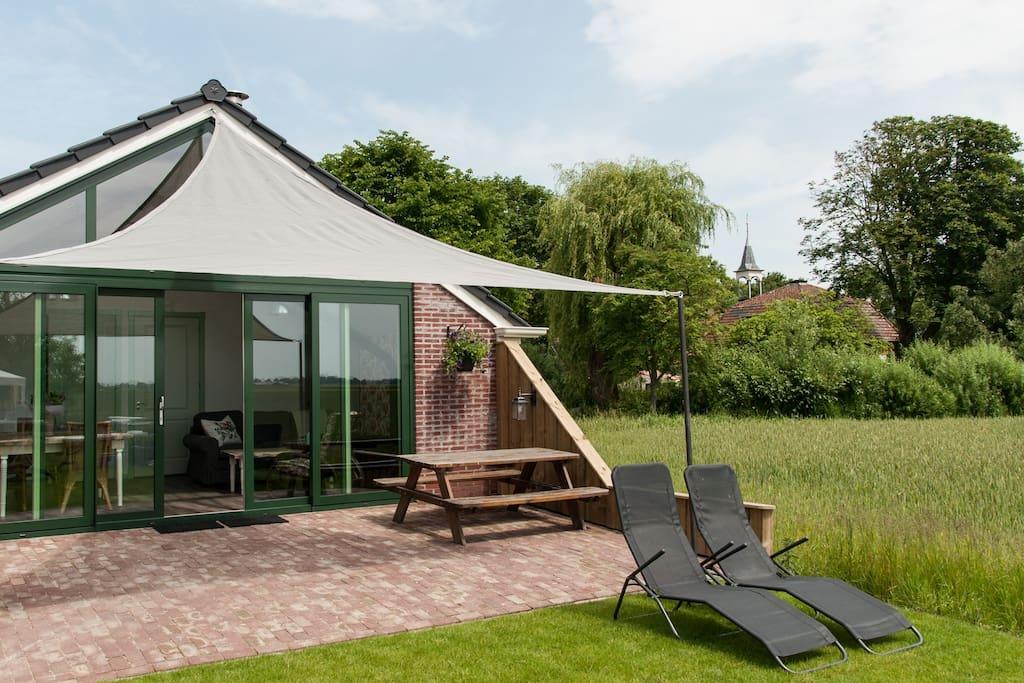 Landelijk gelegen luxe vrijstaand appartement amis for Chambre d hotes luxe
