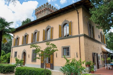 Romantic villa in the Chianti area - Greve in Chianti - Huvila