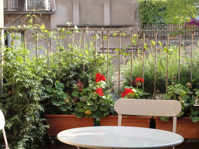 Campo de' Fiori lovely terrace - Rome - Apartment