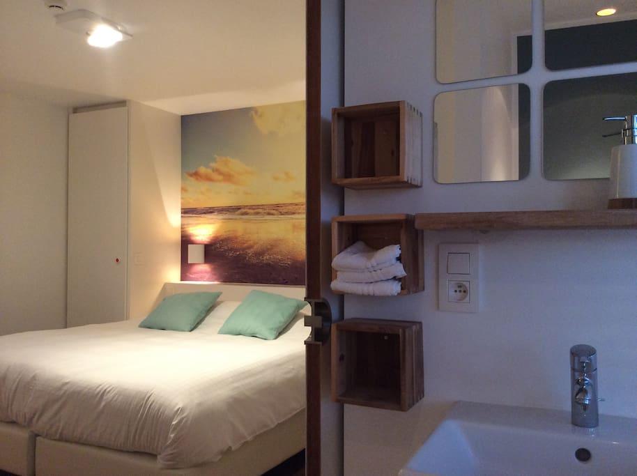 B b lisdodde blanc pur chambre1 chambres d 39 h tes for Chambre hote belgique