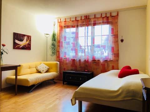 Acogedora  habitación - Acogedora habitación de campo/WiFi