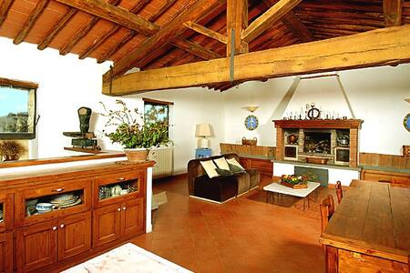 17th c. farmhouse, heart of Chianti - Lamole - Greve in Chianti - Villa - 1