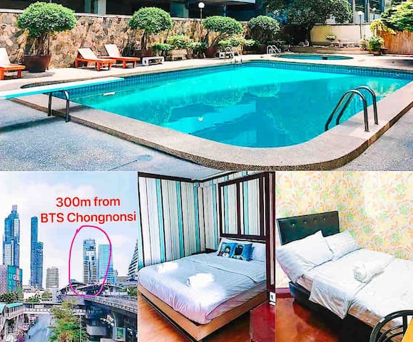 💛2Bedroom💛2Bathroom💛300m to BTS Chongnonsi~Netflix