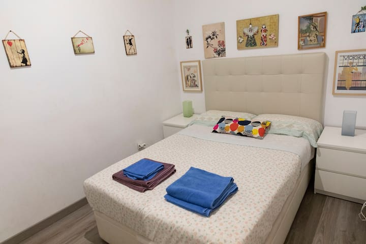 Double room in the Born district