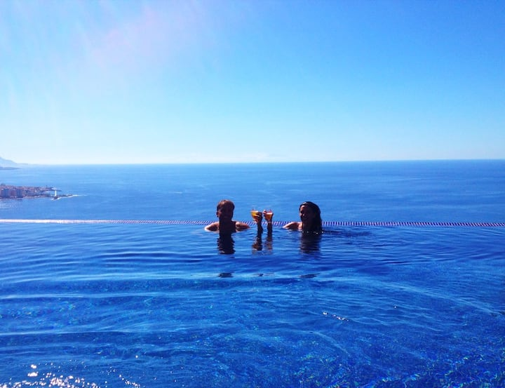 Villa OCEAN. Increible vista Infinity Heated  Pool