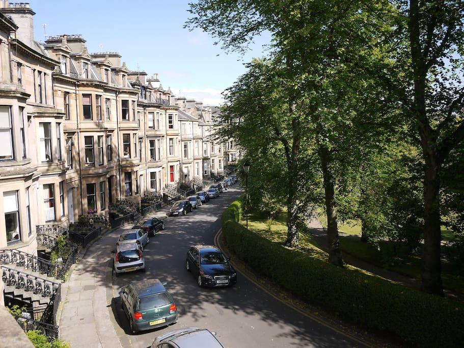 Quiet street in safe neighbourhood