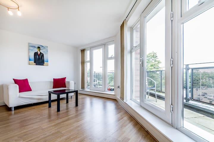 Smart 2 Bedroom 2 Bath London Flat