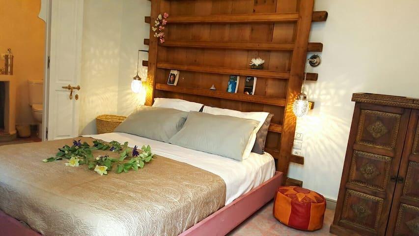 Jemaa el-Fna Riad Laly chambre Niaamat Allah - Marrakech Medina - Bed & Breakfast