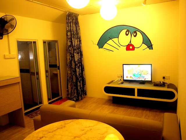 (Promotion) Doreamon Family Suite (Penang Island) - Air Itam