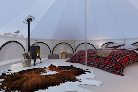 Glamping Lodge in Forest Village|Country Lifestyle