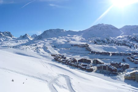 Charming Mountain Chalet La Plagne