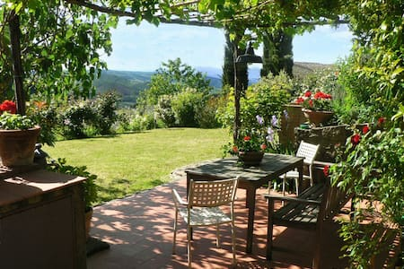 17th c. farmhouse, heart of Chianti - Lamole - Greve in Chianti - Villa - 0