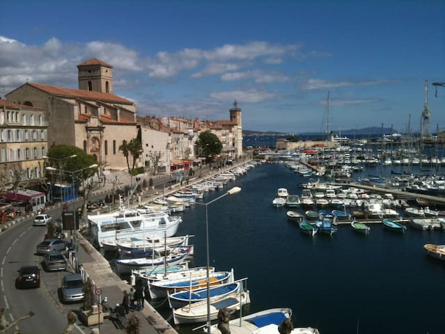 Seaview for a flat on the port - La Ciotat