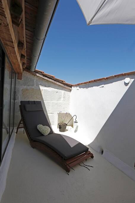 Terrasse de chambre