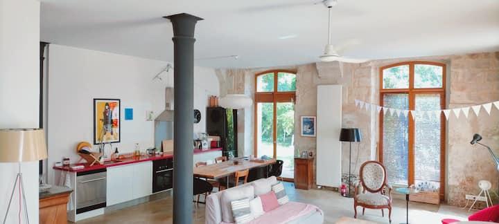 Grand Loft proche de Paris