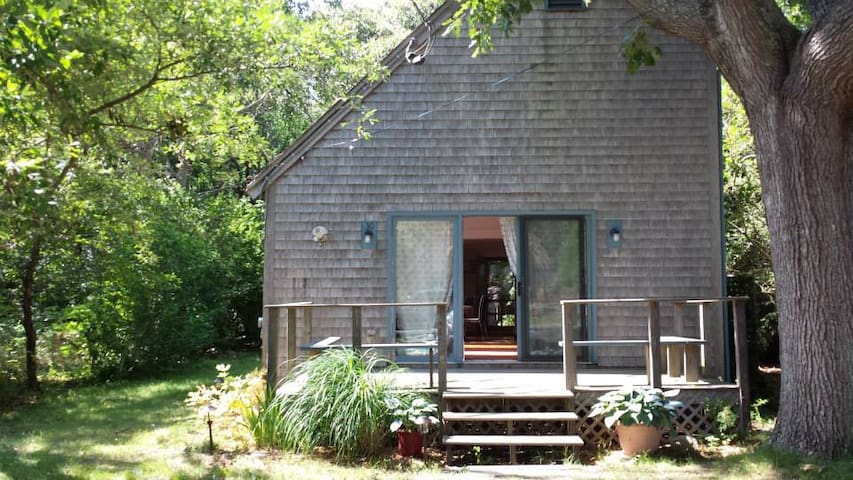Wooded Haven, 30 Winemack Extension - Oak Bluffs - House