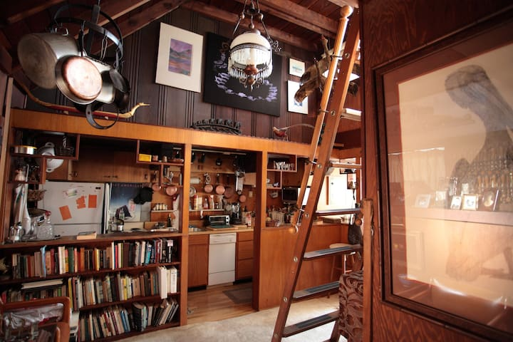 Studio loft on top of Russian Hill