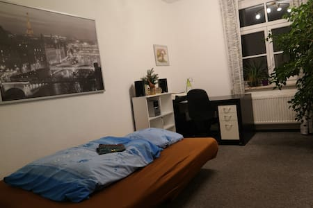 Big full furnished room near center - Dresden