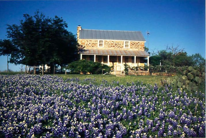 Hill Country 1883 German rock house - Mason - Talo