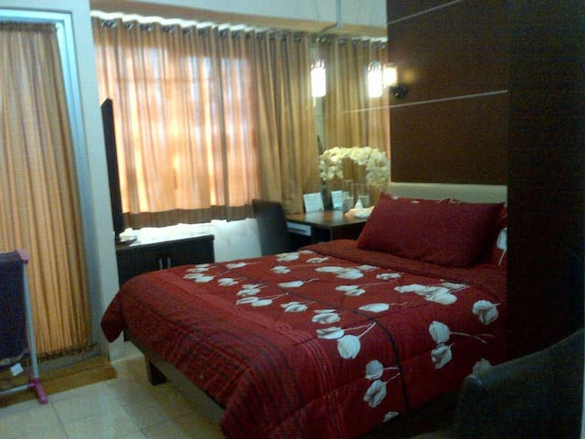 Cozy  Comfortable Studio Apartement at Centro City