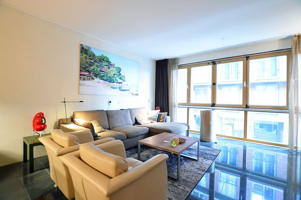 Modern two floor apartment with parking apartments for for Two floor apartment