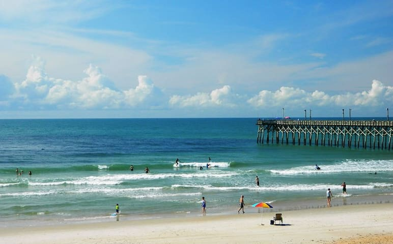 30 seconds to the beach! Ahhh. - Surf City - Casa