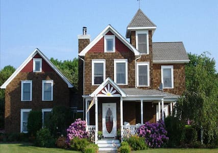 Victorian House Bed and Breakfast - East Moriches - Oda + Kahvaltı