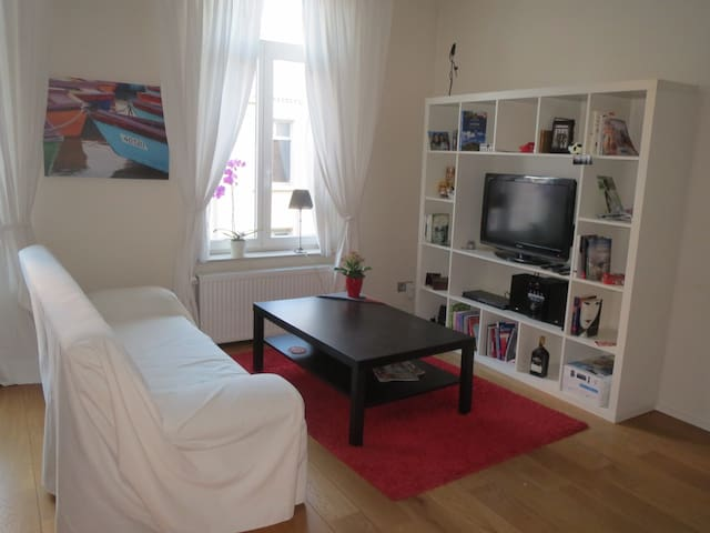 Bright appartment next to La Bourse - Brussels - Apartment
