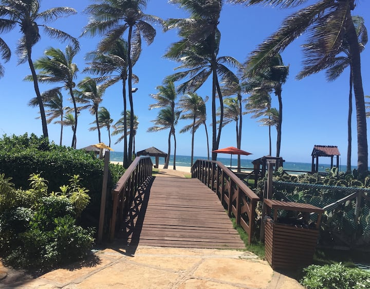 Apto Suites Beach P. Resort. En el Porto das Dunas