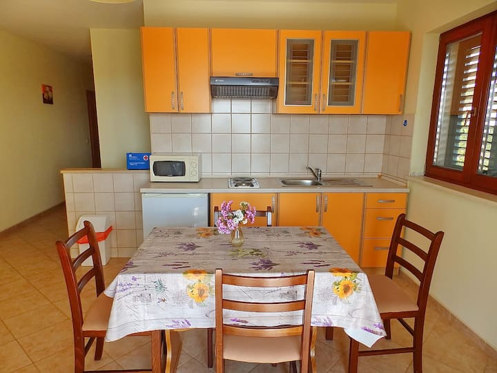 Apartments Sunny Side Orebić-One Bedroom Apartment with Terrace