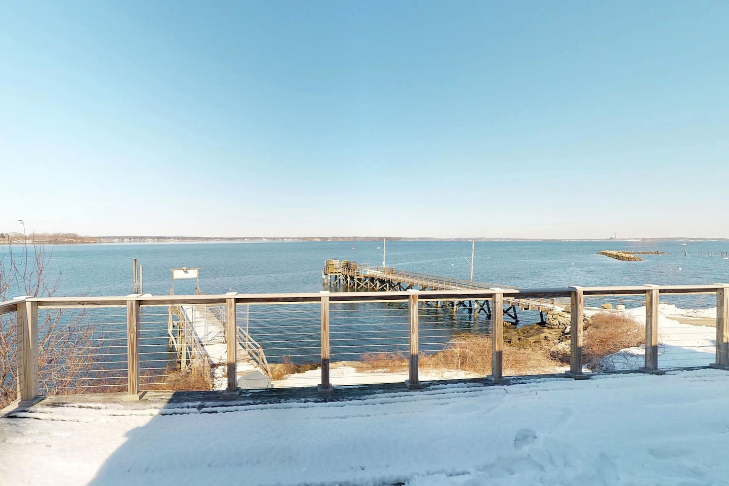 45 ft private dock