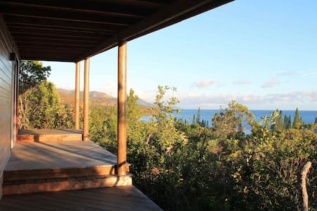 Spendid Eco-Bungalow sea view