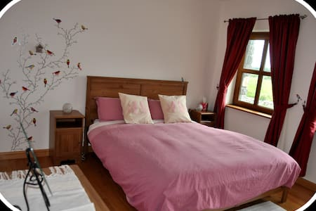 Wild Atlantic Way-Modern Country Home - Bird Room - Kilcolgan