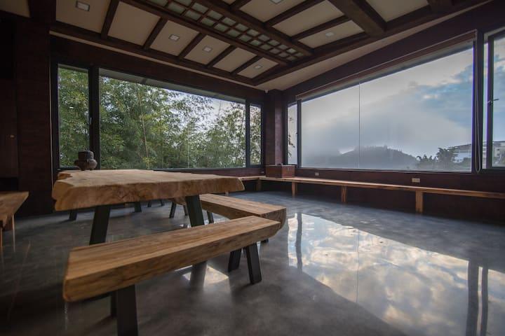 《山居》山嵐景觀雙人房