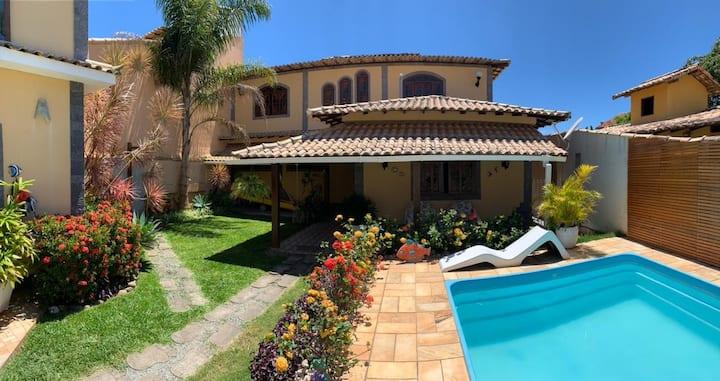 Casa em Búzios com piscina e área gourmet