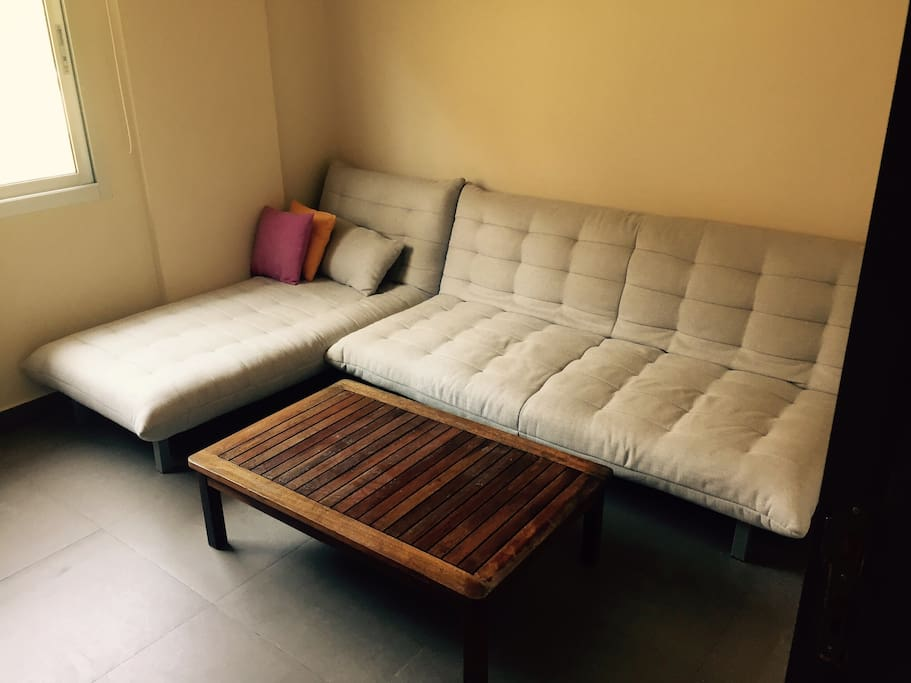 Living room- sofa bed