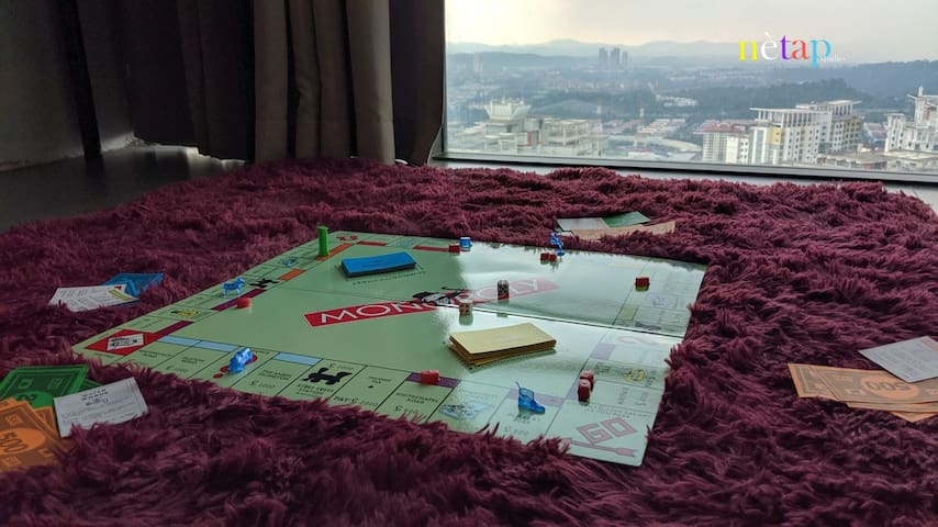 Board games for perfect time together.