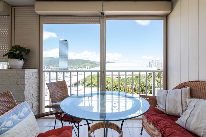 ALA MOANA spacey+convenient+comfy - Honolulu - Appartement en résidence