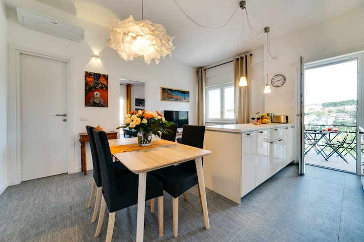 SPQR/Sunny,luxury flat up to 6 people/St.Peter's - Rom - Wohnung